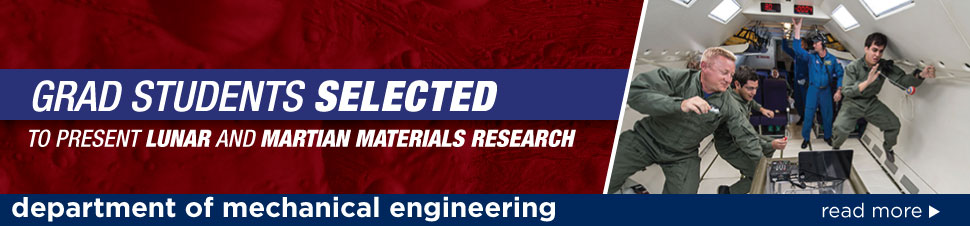 Grad Students Selected to Present Lunar and Martian Materials Research